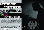 Cartel Charla con autores Hector Tenorio