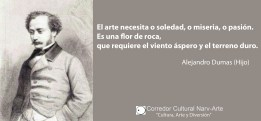 El arte Alejandro Dumas hijo