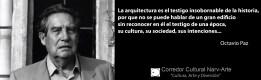 La arquitectura Octavio Paz