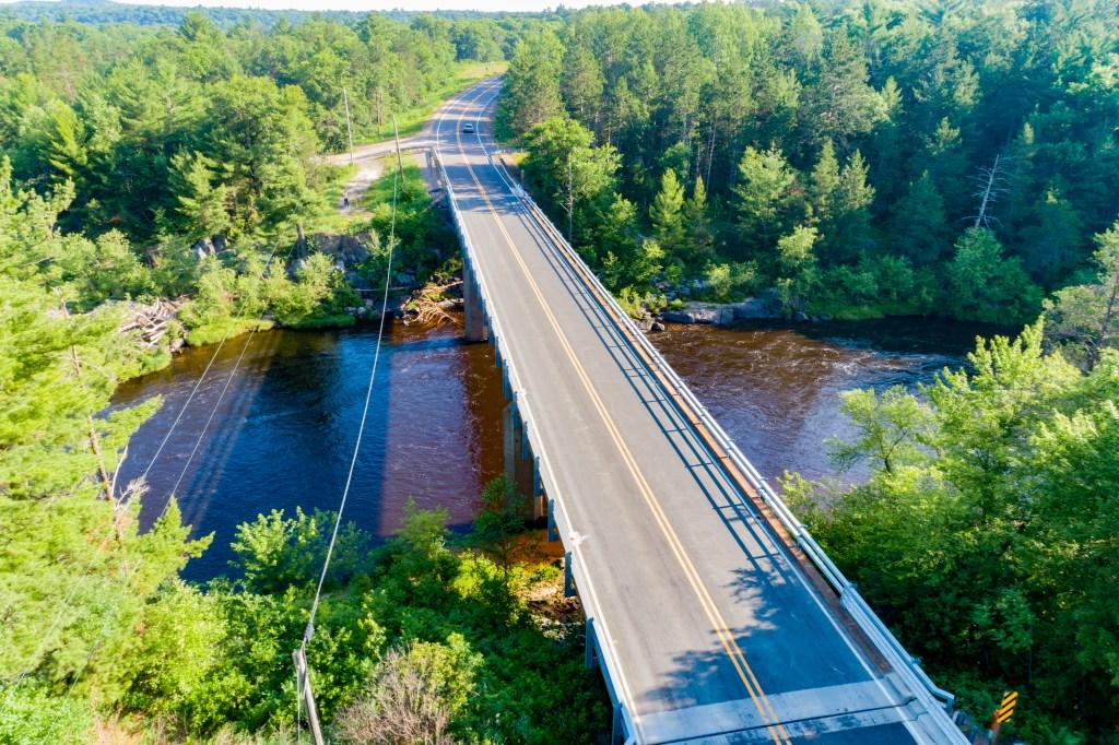 CTH K Bridge, Eau Claire County