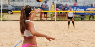 Circuito BB de Voleibol, em Manaus/Foto: Michael Dantas