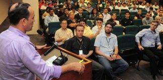 Secretário Afonso Lobo(SEFAZ), esclarece as vantagens/Foto: W. Redman