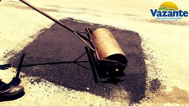 Prefeitura de Vazante está realizando operação tapa buracos