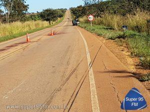 Dois homens morrem em acidente próximo à Coromandel