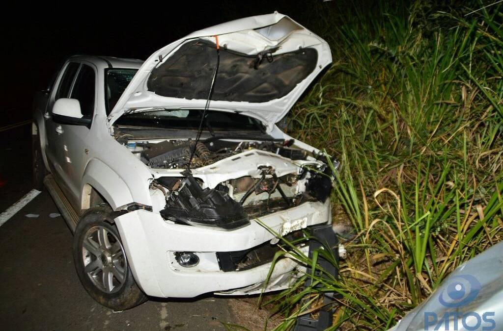 Grave acidente na BR-365