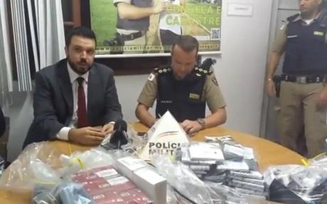 Mais de 3 mil celulares são apreendidos em operação do Ministério Público e Polícia Militar