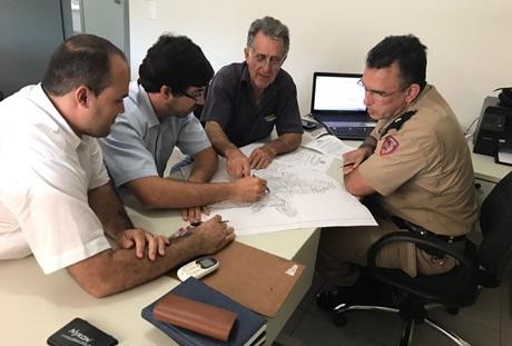Melhorias no trânsito são discutidas em reunião entre CONSEPUV, Polícia Militar e Prefeitura