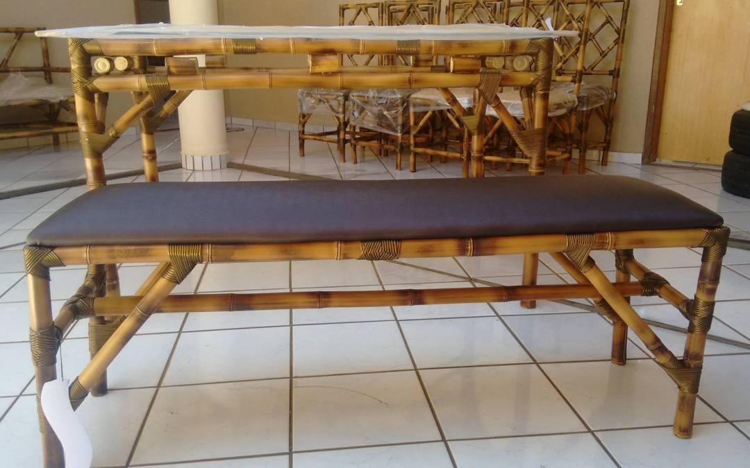 CRAS de Vazante promoveu curso de artesanato em bambu