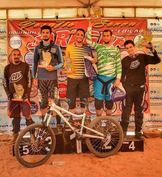 DOWNHILL: Vazantino conquista segundo lugar no Desafio da Serra de Jaraguá