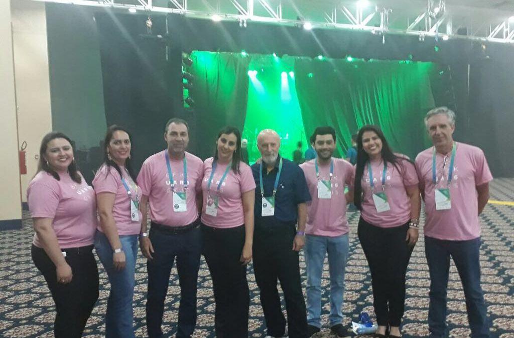 Presidente e Gerentes do Sicoob Credivaz participam do Coopmix 2017
