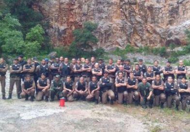 Policiais de Vazante e Guarda-mor participam de curso com policiais do BOPE