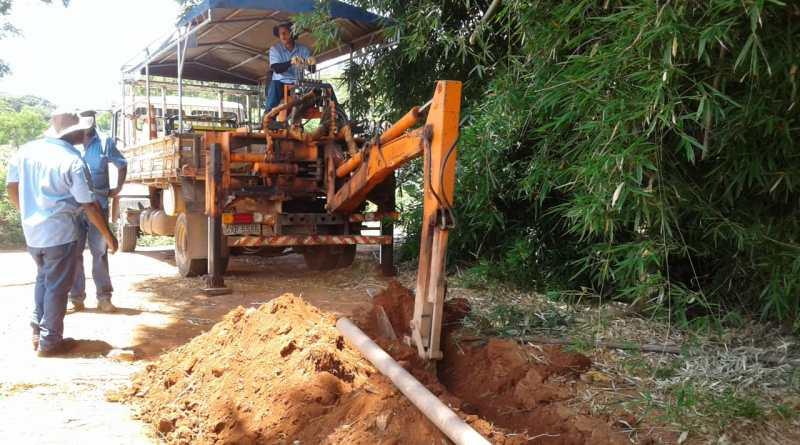 COPASA inicia obra de melhoria de abastecimento de água no bairro Jardim Vitória em Vazante