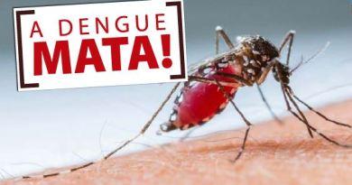 Prefeitura de Lagamar informa o número de notificações de dengue, Zika e Chikungunya em 2019