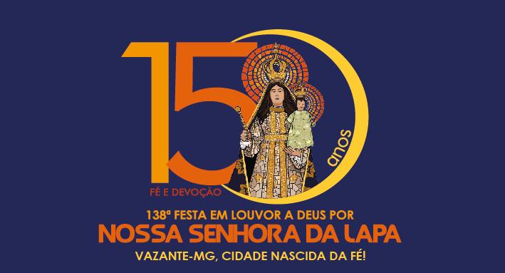 Confira a programação completa da Festa de Nossa Senhora da Lapa 2019
