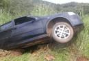 LAGAMAR: Motorista fica ferido após perder controle do veículo na MGC-354