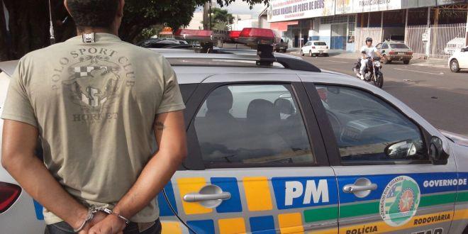 PRE cumpre mandado de prisão durante ação na GO-213
