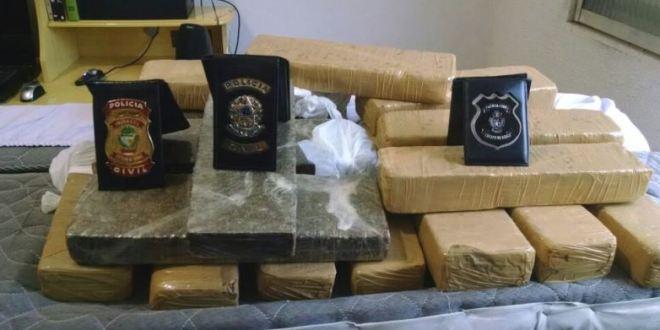 Polícia Civil apreende droga e prende suspeitos de tráfico em Caldas Novas