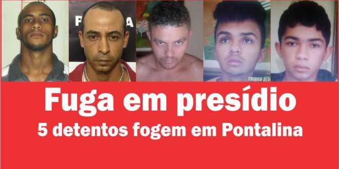De Novo?! Cinco detentos conseguem fugir da cadeia em Pontalina