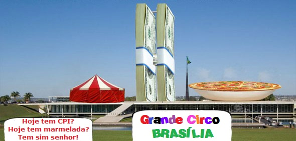 Grande Circo Brasília: é uma palhaçada atrás da outra, desrespeitado público
