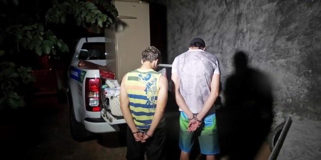 Polícia Militar descobre furto em residência, recupera objetos e prende suspeitos
