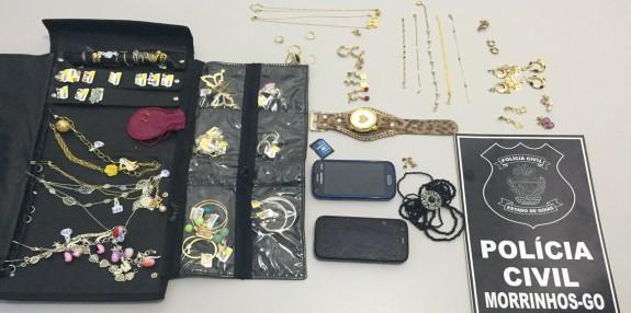 Operação Ostentação: Polícia Civil prende suspeitos de roubo em Morrinhos e municípios vizinhos