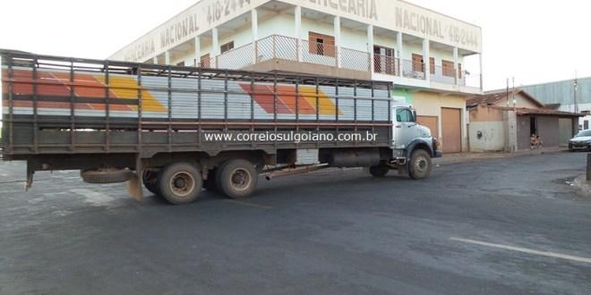 Transferida ao HUGO, passa bem a criança que se acidentou com caminhão, em Morrinhos