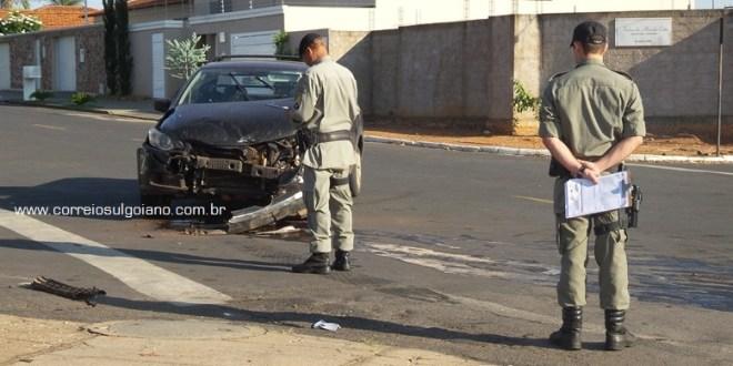 Trânsito em Morrinhos: 4 acidentes em 12 horas. Alguns feridos e um morto