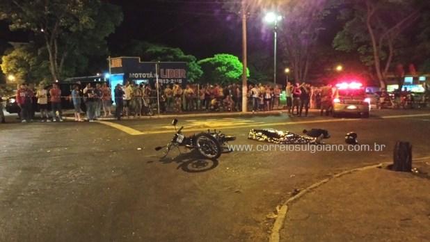 PM isola local e aguarda chegada da Polícia Técnica e do IML