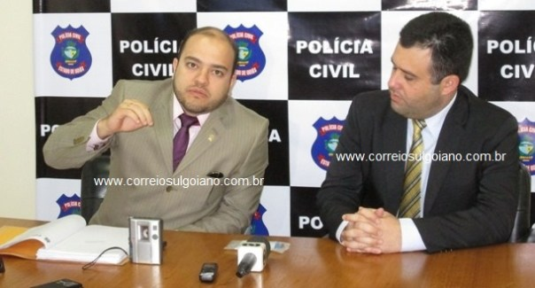 Delegados: Dr. Gustavo Ferreira e Dr. Ricardo Chueire