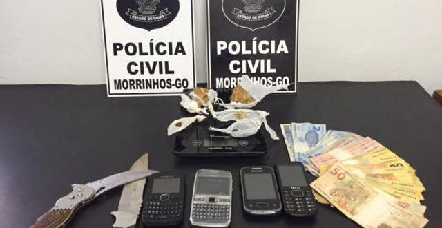 Flagrante: Menor de 15 anos vendia drogas a outra também de 15, em Morrinhos, quando a polícia chegou! Isso é crime? Não, é ato infracional…