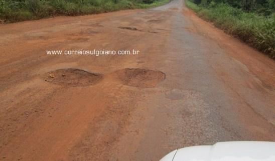 GO-147, entre Morrinhos e Piracanjuba