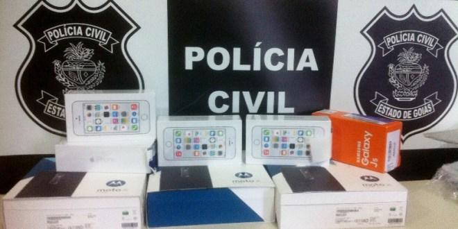 RECEPTAÇÃO: Polícia Civil prende homem suspeito de receber mercadorias via fraude