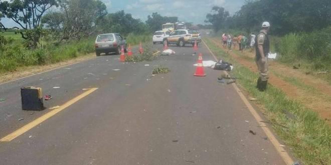 Família de Caldas Novas morre em acidente de trânsito! Mãe e dois filhos morreram
