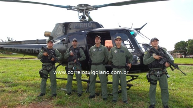 GRAER participa da Operação Esfacela - em Morrinhos
