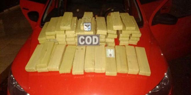 Operações do COD nas divisas do estado resultaram em apreensões de drogas e armas de fogo!!!