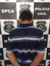 Padrasto é detido pela polícia
