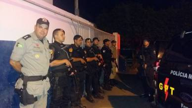Polícia Militar realiza prisão de suspeitos
