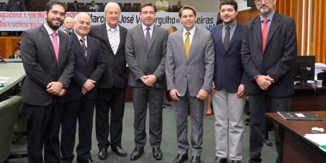 José Vitti é o novo presidente da Assembleia Legislativa de Goiás… Acordo evitou disputa e desgastes na ALEGO…