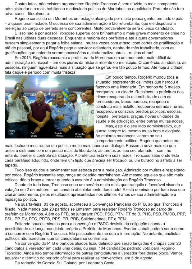 Convenção PTB 2