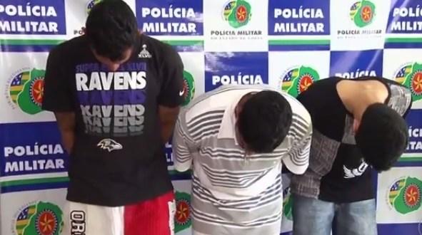 Polícias desarticulam quadrilha de roubo a banco em Goiás. Suspeitos iriam explodir caixas em Mairipotaba