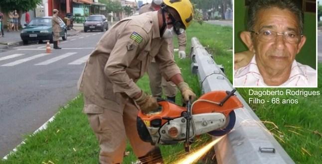 Identificado o corpo encontrado dentro de poste de metal, em Goiânia, em avançado estado de decomposição!