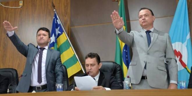 Evandro Magal assume 4º mandado de prefeito em Caldas Novas! Nova mesa diretora da Câmara é definida