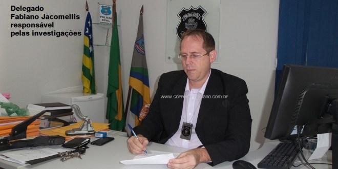 Polícia Civil prende homem suspeito de furto em Morrinhos! Ele já tem passagem pela polícia
