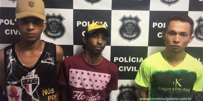 Preso comandava roubos em Morrinhos de dentro do presídio. Polícia Civil cumpriu mandados contras 3 suspeitos