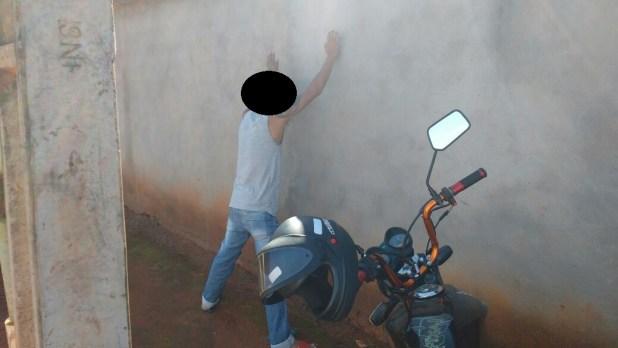 Operação da PM em Morrinhos