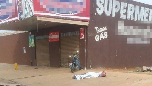 Comerciante reage a mata dois durante tentativa de roubo em supermercado de Caldas Novas!