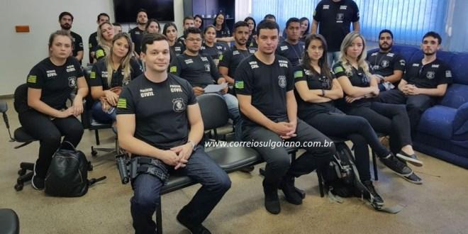 Morrinhos receberá 03 novos servidores para a Delegacia de Polícia Civil. São 25 para 22 cidades!!!