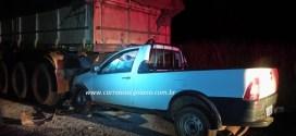Acidente e morte em Morrinhos. Colisão traseira tira vida de Reginaldo Januário na rodovia MIH 02 na noite de domingo