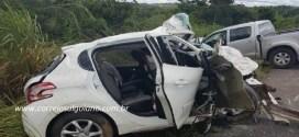 Acidente mata família de Caldas Novas, fere vice-prefeito de Cocalzinho-GO, fere o filho dele e causa a morte do genro