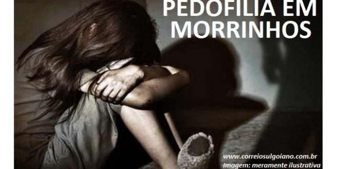 PEDOFILIA: Suspeito de abusar da neta de sua companheira, homem de 69 anos é preso pela Polícia Civil, em Morrinhos!
